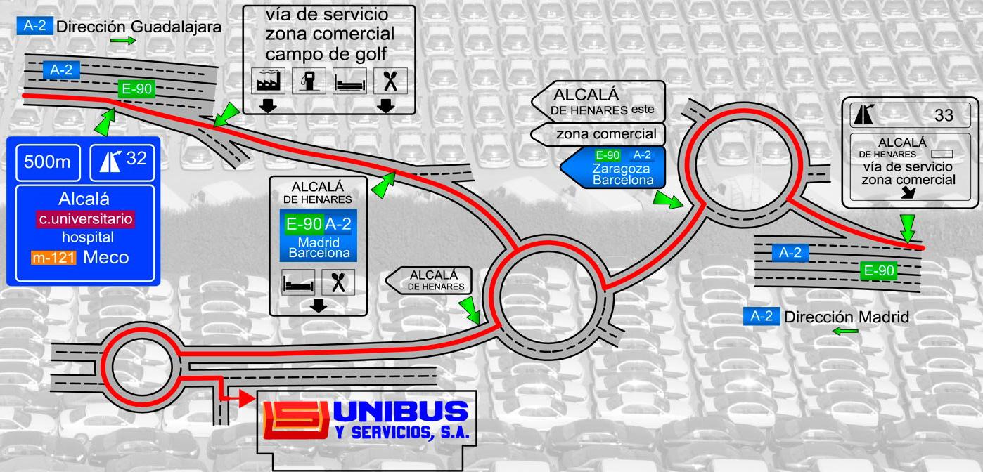Contacto mapa como llegar