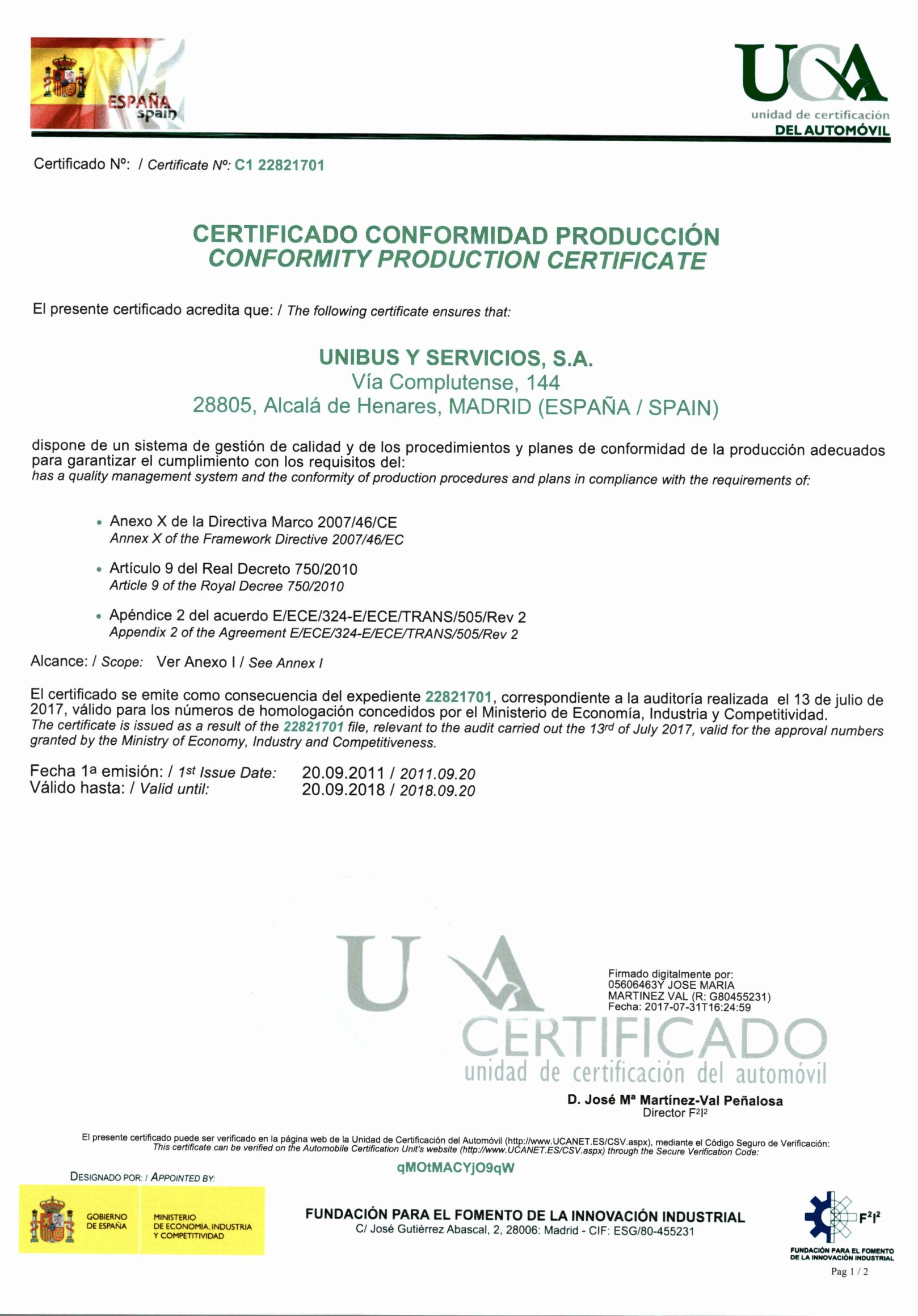 Certificado de calidad iso 9001-2008